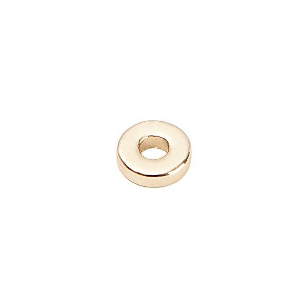 Rico Design Scheibe rund gold 10mm 20 Stück