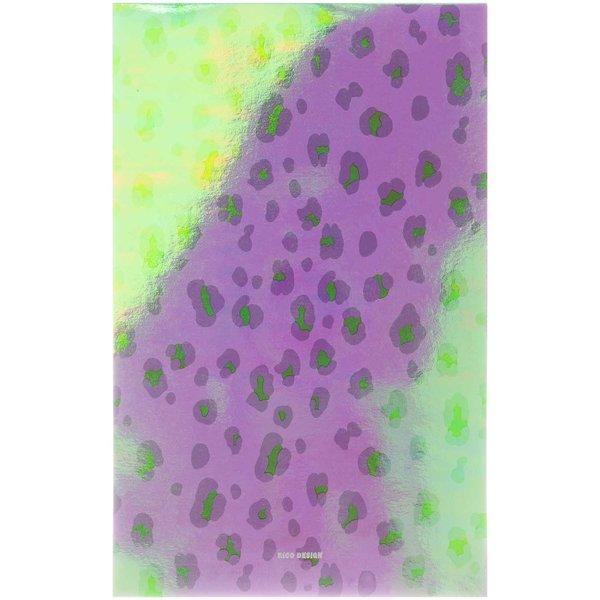 Paper Poetry Notizblock Acid Leo flieder A5 50 Blatt 100g/m²