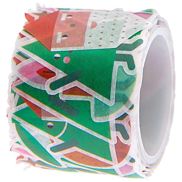 Rico Design Washi Sticker Weihnachtsfiguren 200 Stück