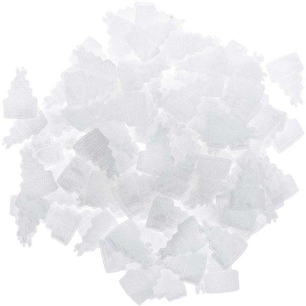 Streu Torte weiß 144 Stück
