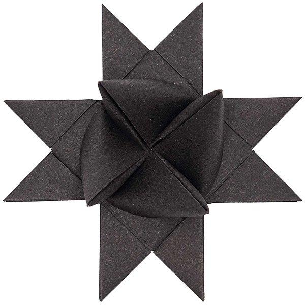Rico Design Fröbelstreifen schwarz 120g/m² 40 Stück