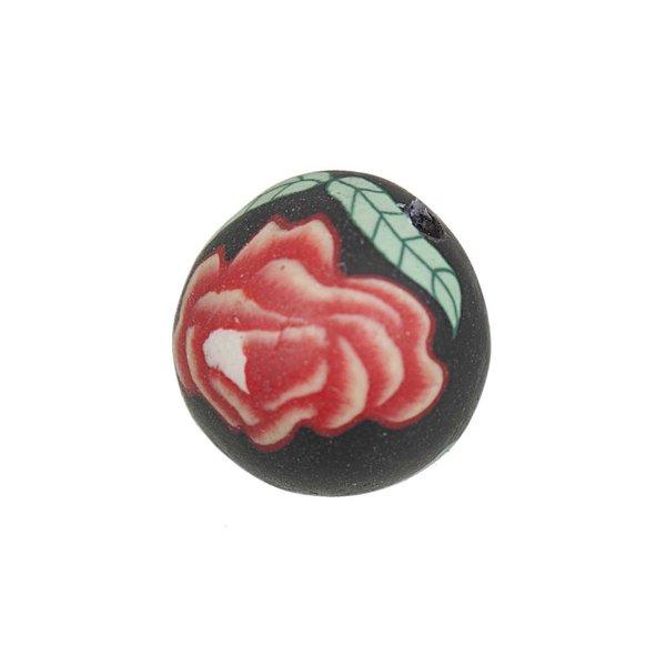 Jewellery Made by Me Kugel Rose mehrfarbig 13mm 5 Stück