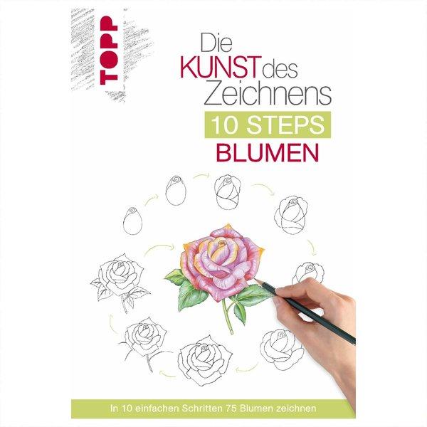 TOPP Die Kunst des Zeichnen 10 Steps: Blumen