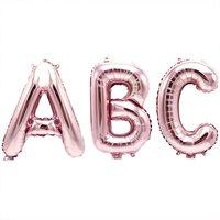 YEY! Let's Party Folienballon Buchstabe rosa 36cm