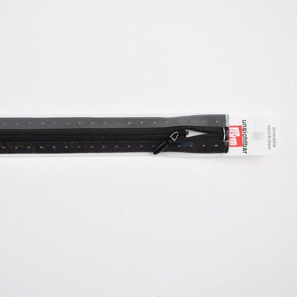 Prym Reißverschluss S6 unsichtbar schwarz 60cm