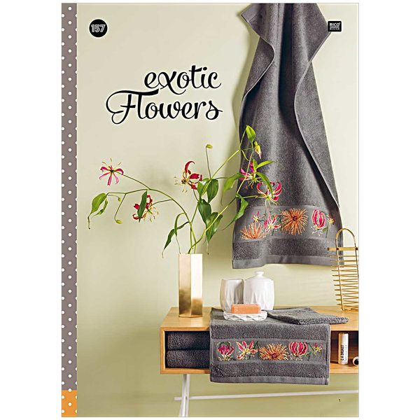 Rico Design Exotic Flowers Nr.157