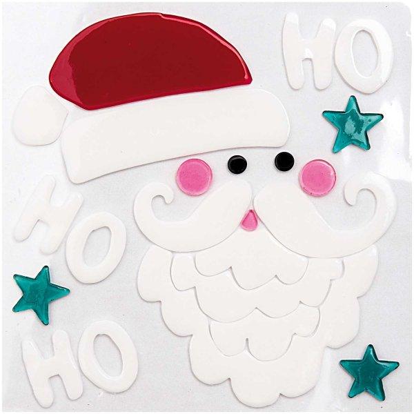 Made by Me Gelsticker Weihnachtsmann
