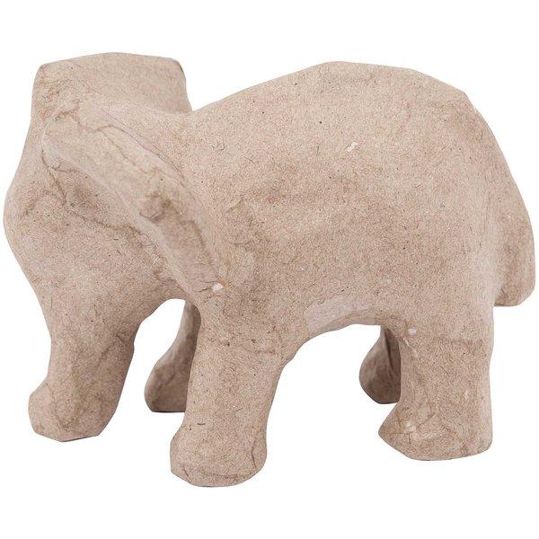 Rico Design Pappmaché Elefant klein 9x7x6,5cm