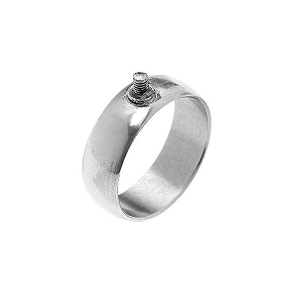 Rico Design Ring breit 21mm Schraubgewinde silber