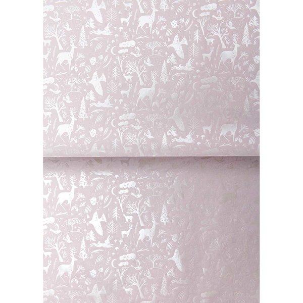 Rico Design Paper Patch Papier Nostalgic Christmas flieder 30x42cm