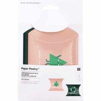 Paper Poetry Geschenkschachteln Merry Christmas klein 10x15cm 4 Stück