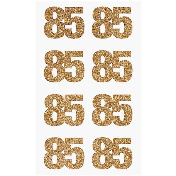 Paper Poetry Glittersticker 85 gold