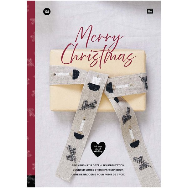 Rico Design Stickbuch Merry Christmas Nr. 176