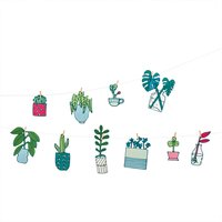 Paper Poetry Girlande Hygge Plants 3m