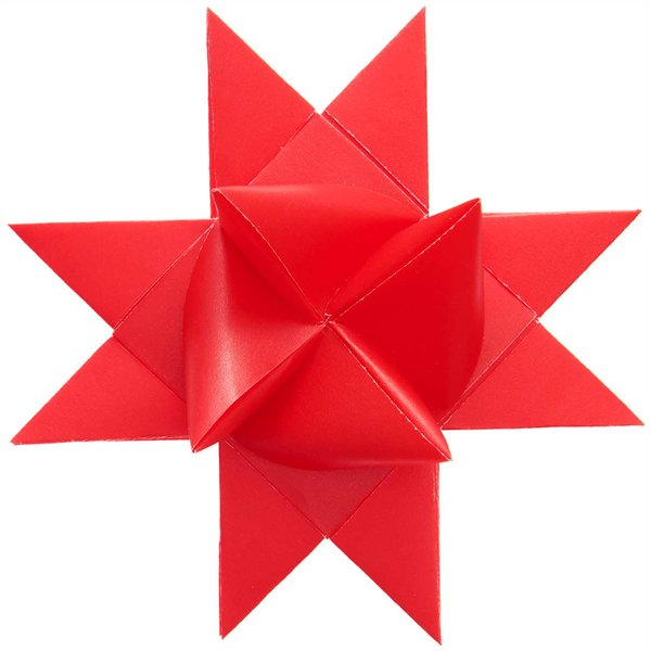 Paper Poetry Fröbelstreifen Transparentpapier rot M+L 120g/m² 40 Stück