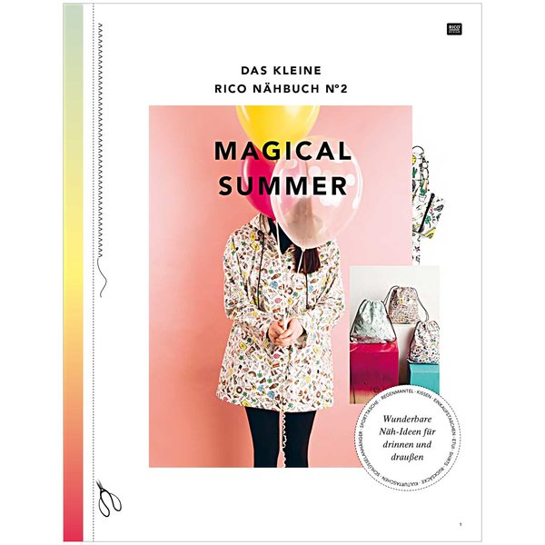 Rico Design Das Kleine Rico Nähbuch Magical Summer