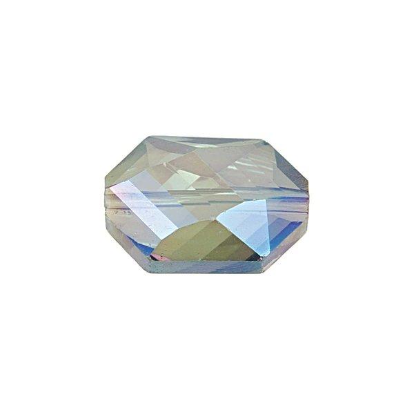 Jewellery Made by Me Perle geschliffen oval blau irisierend 18x12mm 3 Stück