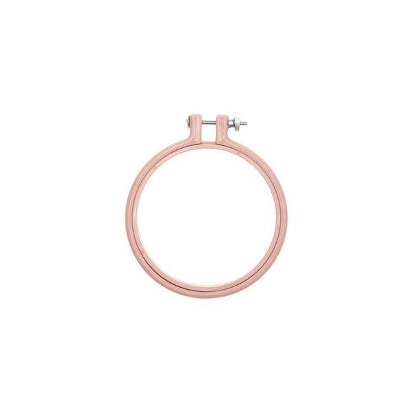 Rico Design Stickring aus Kunststoff rosa 10,1cm