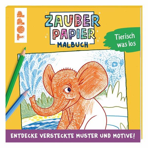 TOPP Zauberpapier Malbuch - Tiere