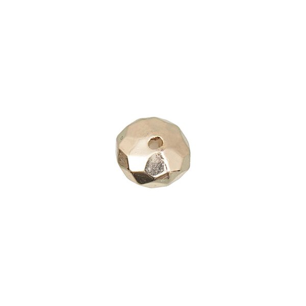 Jewellery Made by Me Diskus mit Facetten gold 9x6mm 20 Stück