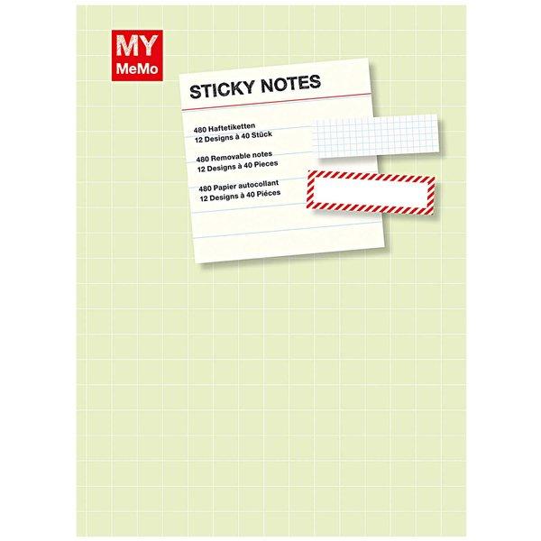 Rico Design Sticky Notes Buch 1mit 12 Designs