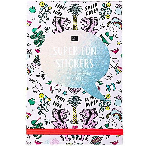 Paper Poetry Stickerbuch Wonderland rosa 20 Blatt