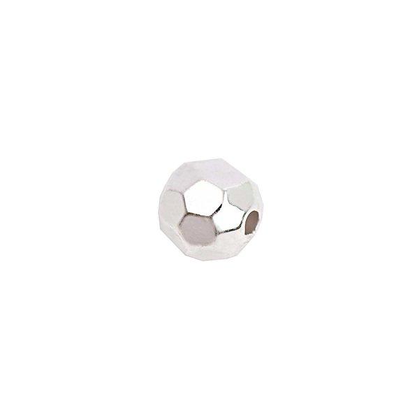 Rico Design Facettenkugel klein silber 5mm 30 Stück