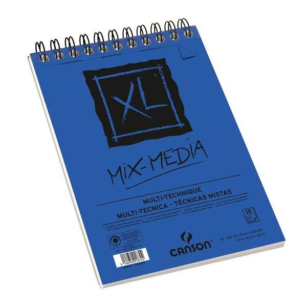 Canson XL Spiralblock Mix Media A4 30 Blatt