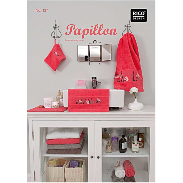 Rico Design Stickbuch Papillon Nr.137