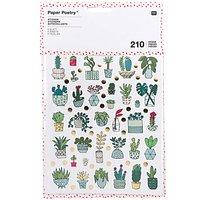 Paper Poetry Sticker Hygge Plants 6 Blatt