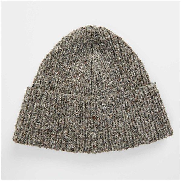 Strickset Mütze Modell 19 aus Lovewool Nr. 13 anthrazit Onesize