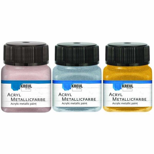 KREUL Acryl Metallicfarbe 20ml
