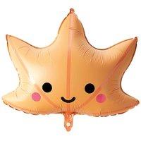 YEY! Let's Party Folienballon Ahornblatt 60x64cm
