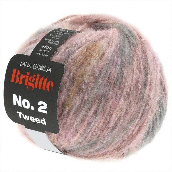 Lana Grossa Brigitte No.2 Tweed 50g 100m