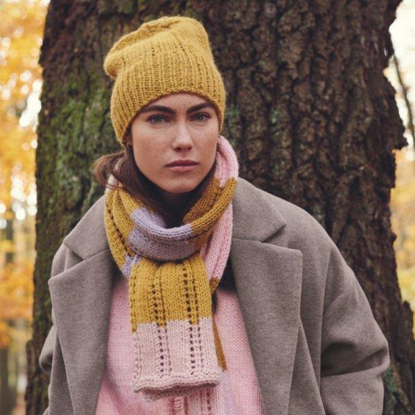 Strickset Schal Modell 8 aus Alpaca Twist Special