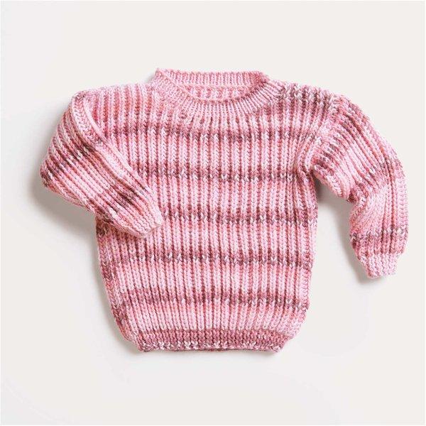 Strickset Pullover Modell 01 aus Baby Nr. 32