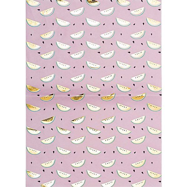 Rico Design Paper Patch Papier Melone gold 30x42cm Hot Foil