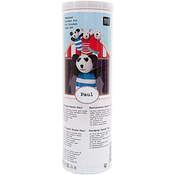 Rico Design Häkelset Handpuppe Panda Paul