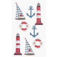 Paper Poetry 3D Sticker Ostsee-Nordsee