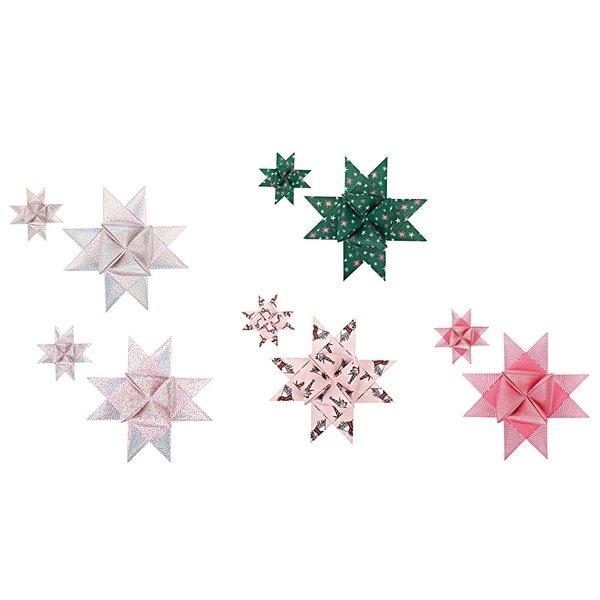 Paper Poetry Fröbelstreifen Magical Christmas mit Einhorn40 Stück
