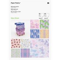 Paper Poetry Motivpapierblock Transformation 30 Blatt