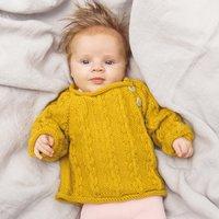 Strickanleitung Pullover aus Baby Classic DK