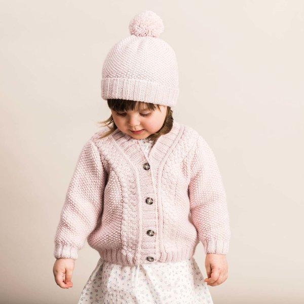 Strickset Jacke & Mütze Modell 9/10 aus Rico Baby Nr. 022