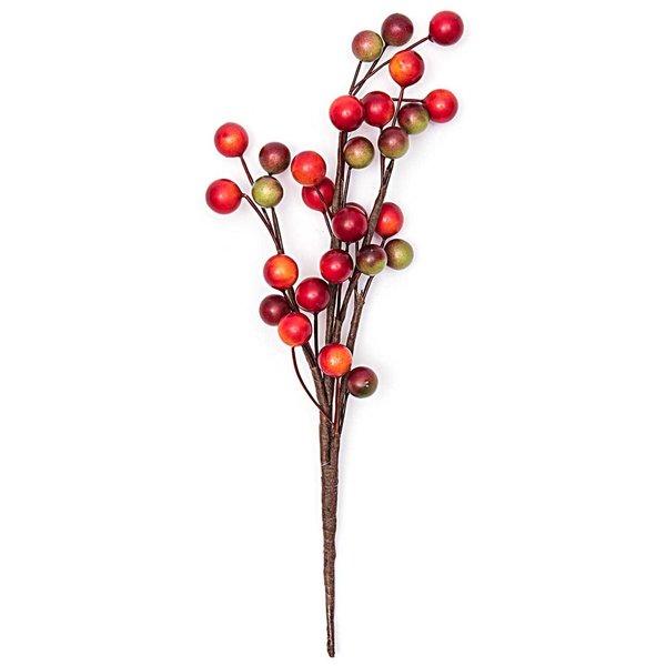 Beerenpick rot-grün 22cm