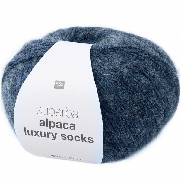 Rico Design Superba Alpaca Luxury Socks 100g 310m