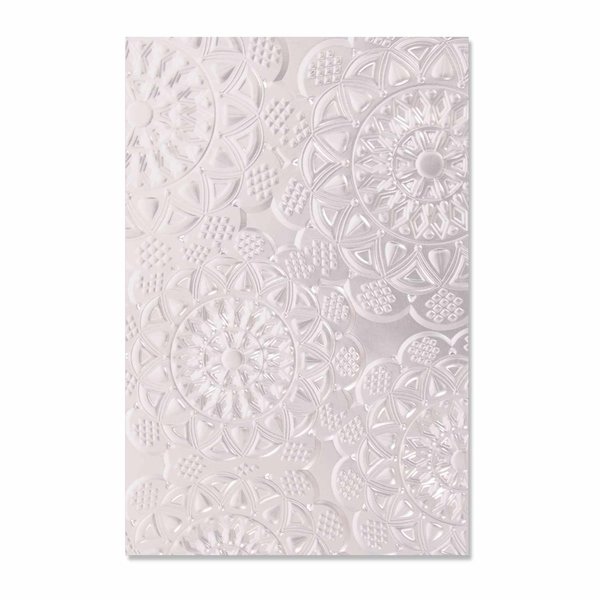 Sizzix 3D Textured Impressions Embossing Folder Doily