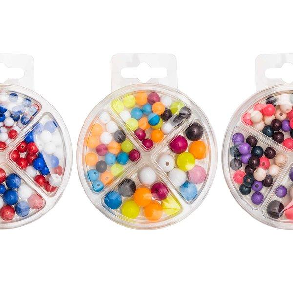 Kunststoffperlen Mix 70-teilig