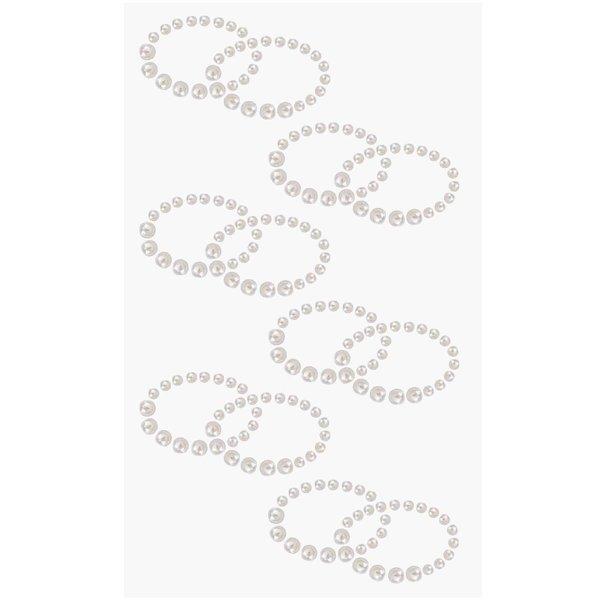 Paper Poetry Perlen-Sticker Doppelringe
