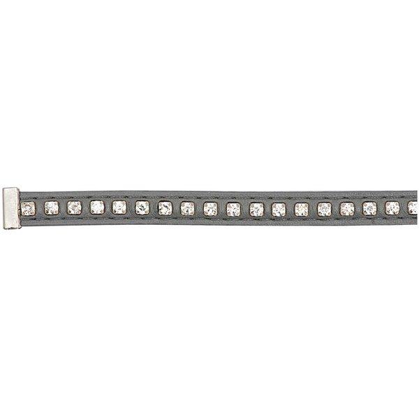 Rico Design Strassband grau M/L 10x180mm