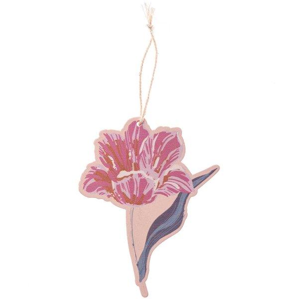 Ohhh! Lovely! Hänger Blume dunkelrot 1 Stück